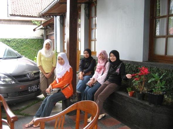 hotel yang kami stay di Bandung