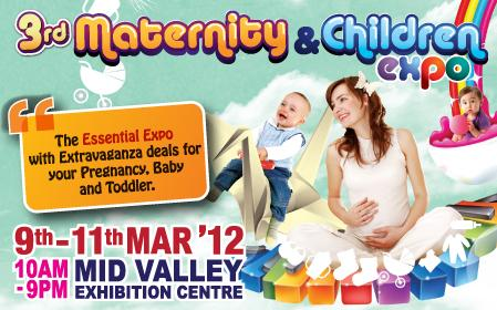 3rd Maternity and Children Expo!